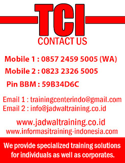Jadwal Training 2016 2017 2018 2019 2020