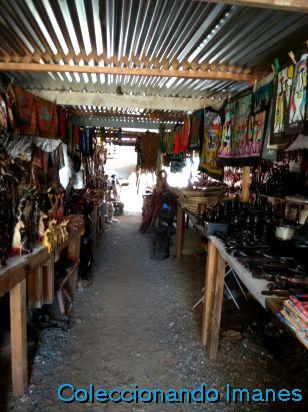 Mercado artesanía Okahandja