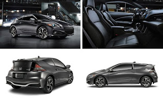 Tampilan Interiror Honda CR-Z