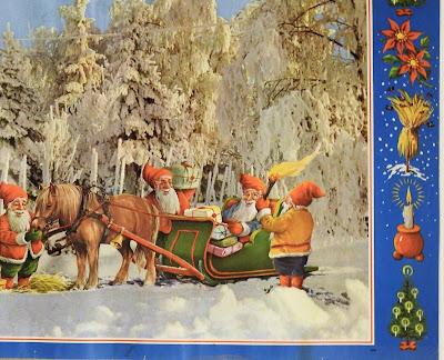joulutaulu, yksityiskohta, koriste