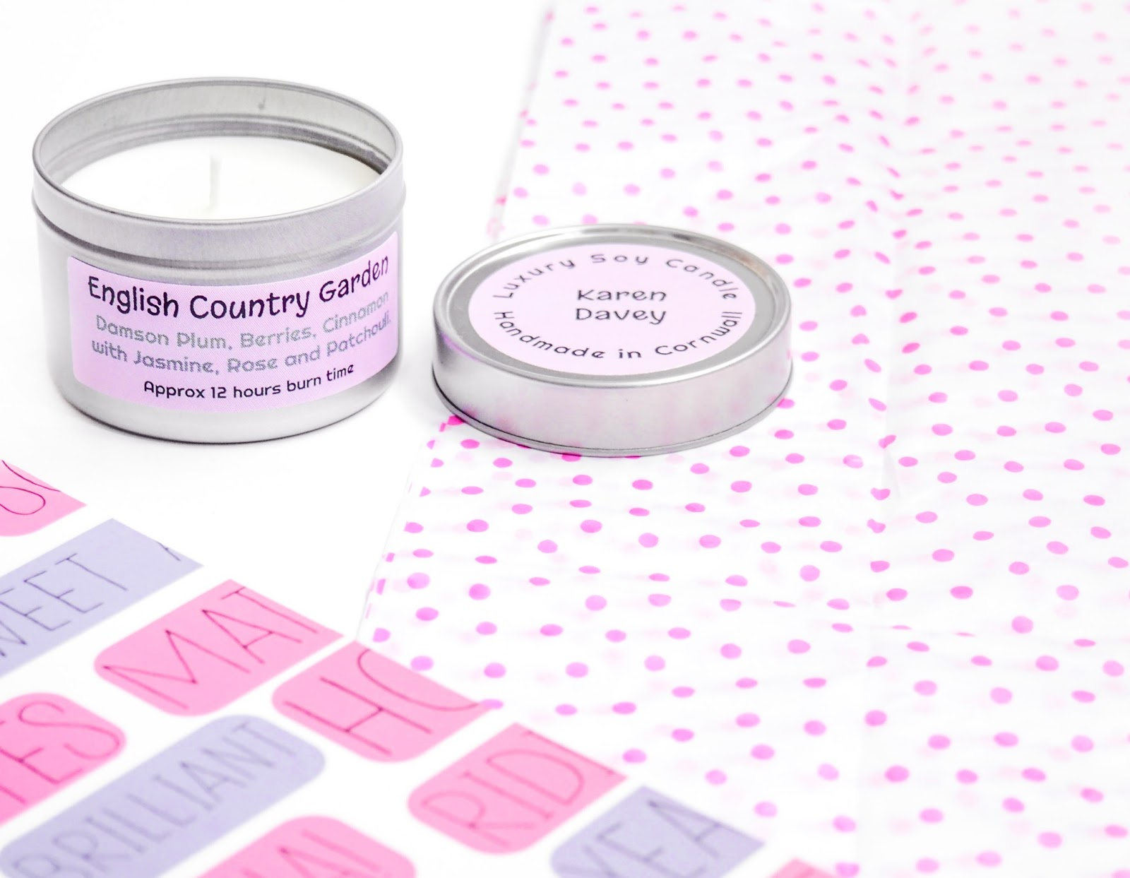 Karen Davey English Country Garden Candle Review