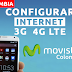 Configurar Internet APN 3G/4G LTE Movistar Colombia 2019