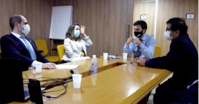 Prefeito de Imbituba foi à Brasília conversar sobre privatização do porto