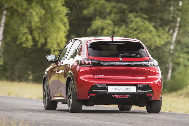 Novo Peugeot e208 2020