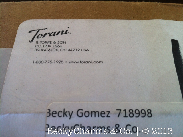 Torani New Product Real Cream Frappe Sample by BeckyCharms