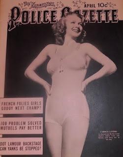 Carole Landis Police Gazette