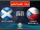 مشاهدة مباراة اسكوتلندا وجمهورية التشيك بث مباشر اليوم 2021/06/14 الأمم الأوروبية