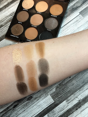 Morphe 9A   Always Golden Review and Swatches