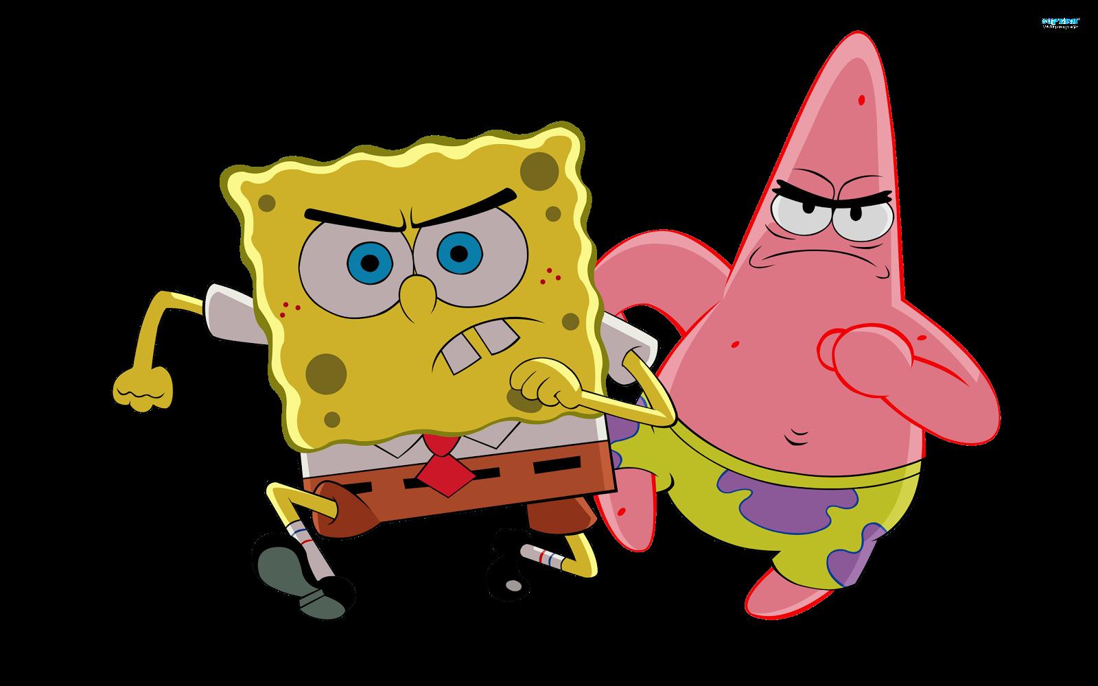 Cartoon Characters: SpongeBob revised PNG's