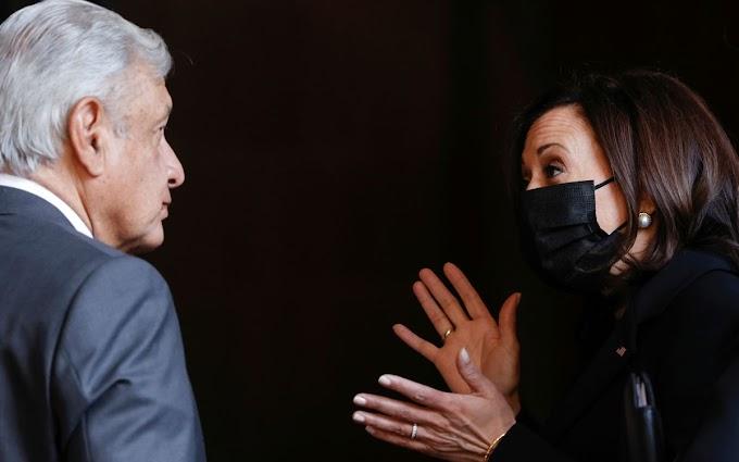 REVELACIÓN: ¡Kamala vino a darle una regañada a AMLO!