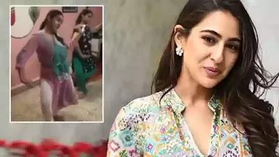 Sara Ali Khan did a classical dance video viral