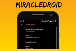 Custom ROM MiracleDROID Unofficial for Riva (Redmi 5A)