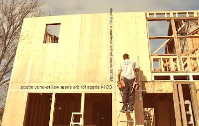 جدار القص من الخشب الرقائقيPlywood Shear Wall