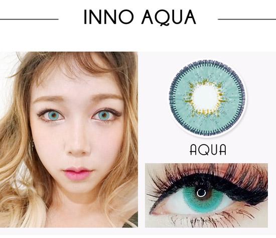 Inno Color 3-Tone Luxury (Big) aqua /14.5mm