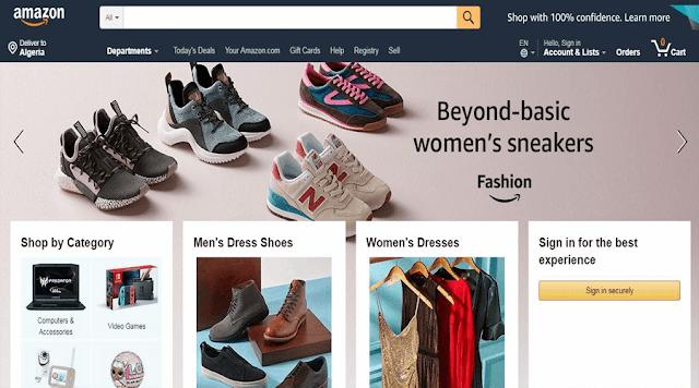 أفضل مواقع تسوق عبر الانترنت
