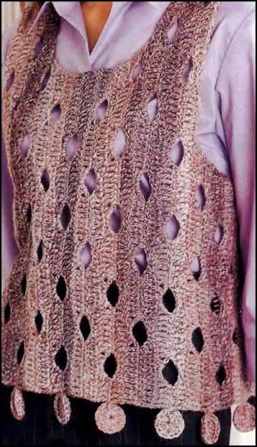 Patron Crochet Jersey Rotos