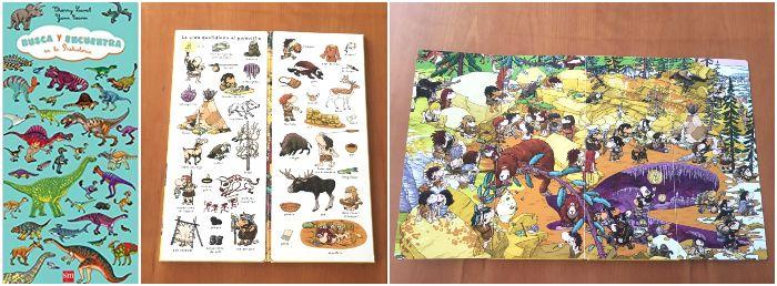 libro juego busca encuentar en la prehistoria Tierry Laval