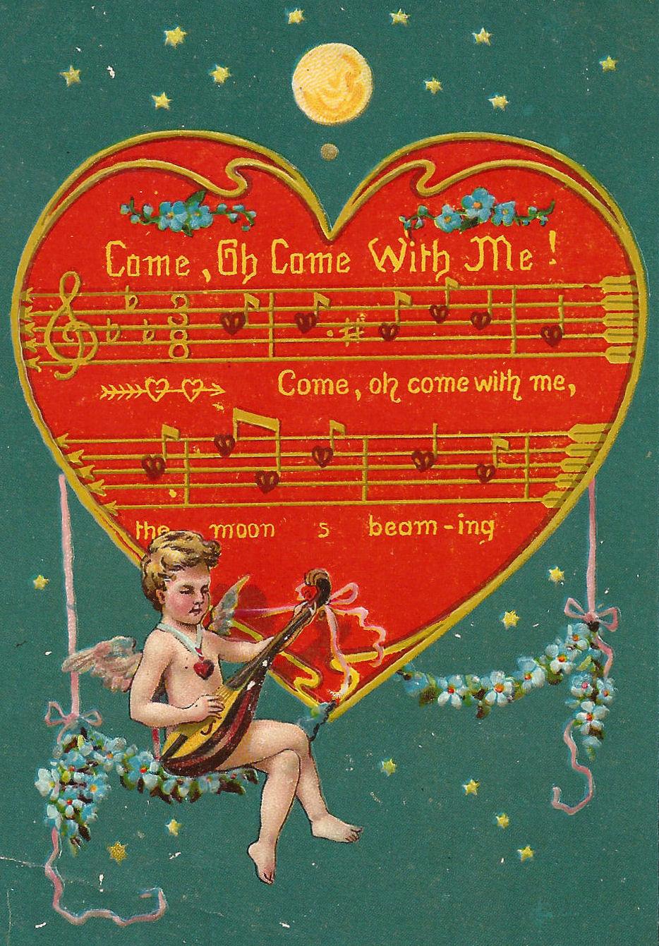 Antique Images: Free Valentine Graphic: Vintage Valentine ...