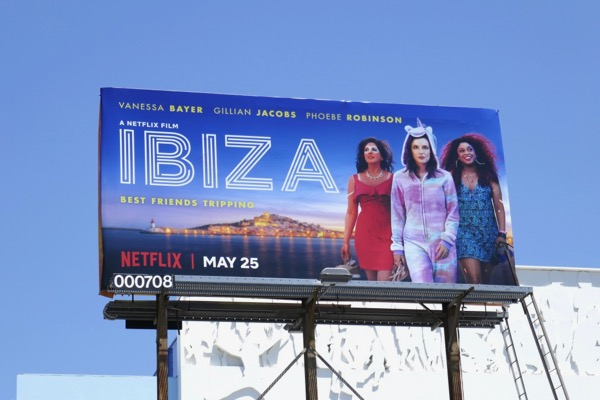 Ibiza Netflix movie billboard