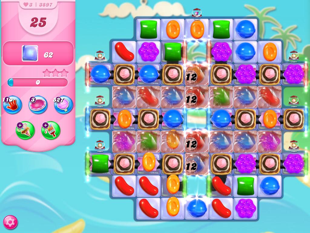 Candy Crush Saga level 3897