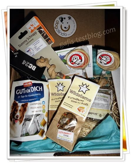dogolindo - box for the dogs - Inhalt der zweiten Box