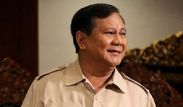 Prabowo has offered the concept of food security to the government