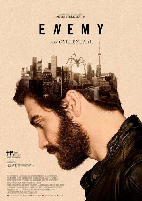 poster film dengan efek double exposure