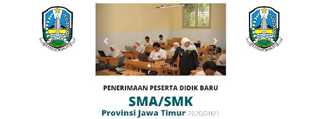 Jadwal Pendaftaran dan Persyaratan PPDB SMAN SMKN Se Provinsi Jawa Timur Tahun Pelajaran JADWAL PENDAFTARAN DAN PERSYARATAN PPDB SMAN SMKN SE PROVINSI JAWA TIMUR 2020/2021