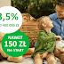 Konto Oszczędnościowe 3,5% na 12 miesięcy w Getin Bank (+ 50 zł na start i nawet 500 zł w programie poleceń)