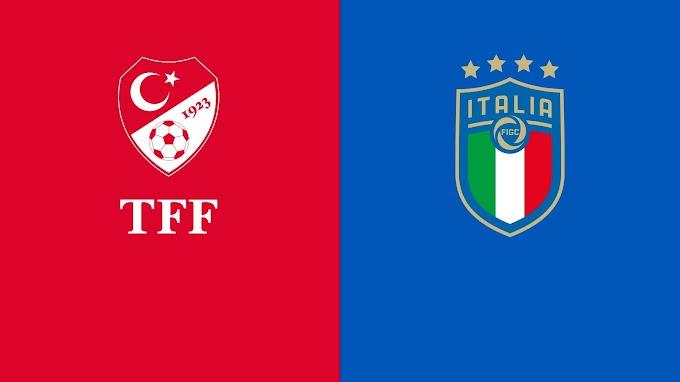 مشاهدة مباراة تركيا و ايطاليا بث مباشر