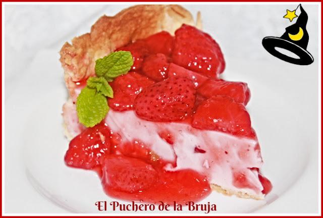 Tarta De Queso Marcarpone Y Fresas
