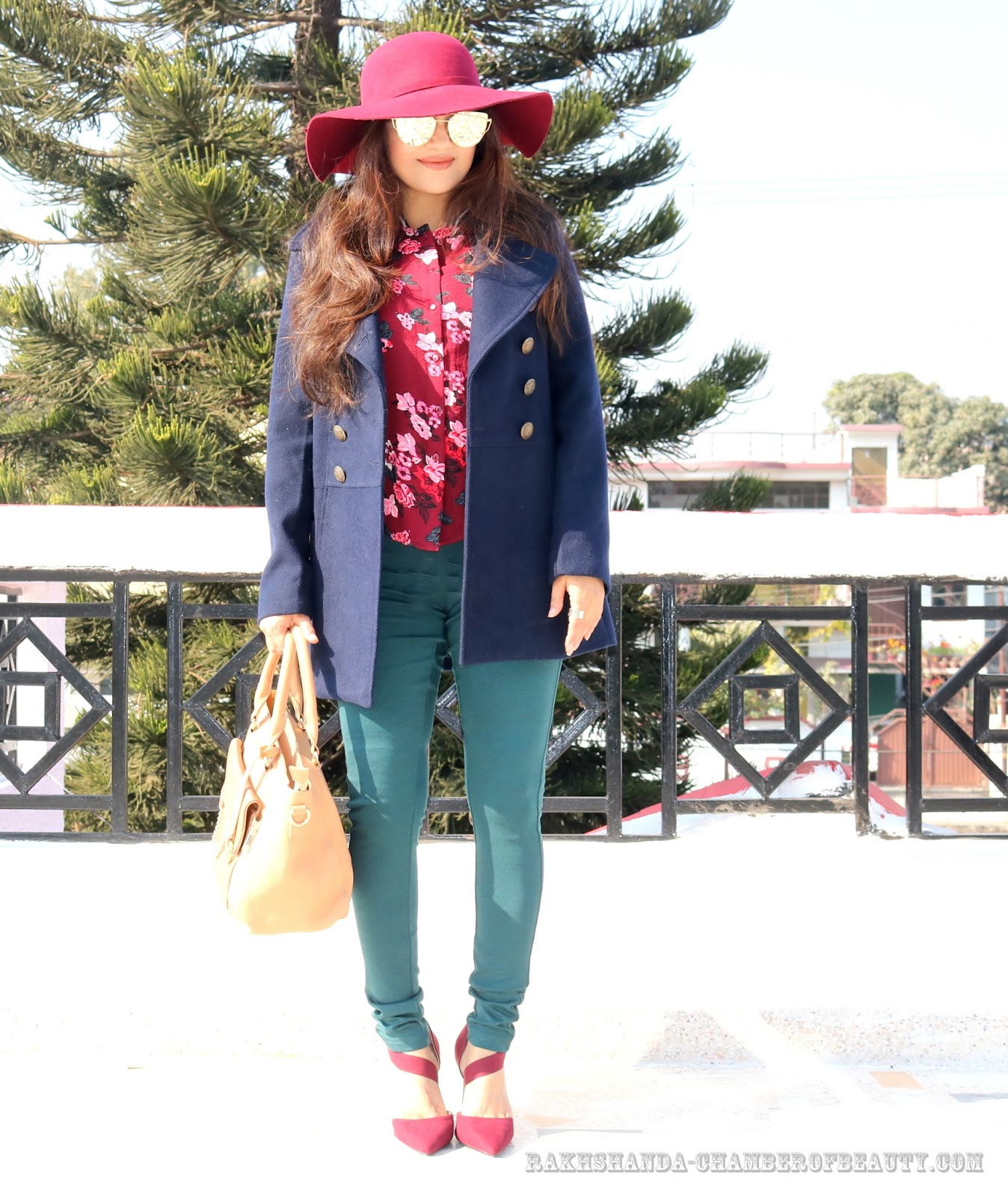rakhshanda-chamberofbeauty/Max fashion/how to style printed shirt in winter