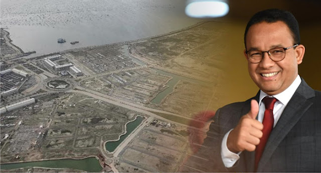 MA Menangkan Gubernur Anies soal Pencabutan Izin Reklamasi Pulau H Jakarta