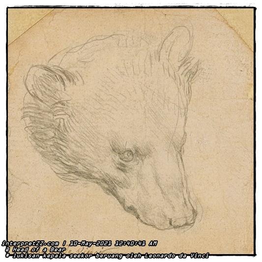 Lukisan beruang Leonardo da Vinci dijangka mencapai nilai £12 juta