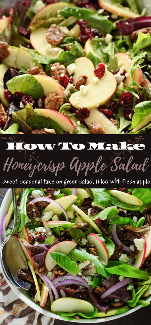 Honeycrisp Apple Salad #vegan #vegetarian #soup #breakfast #lunch