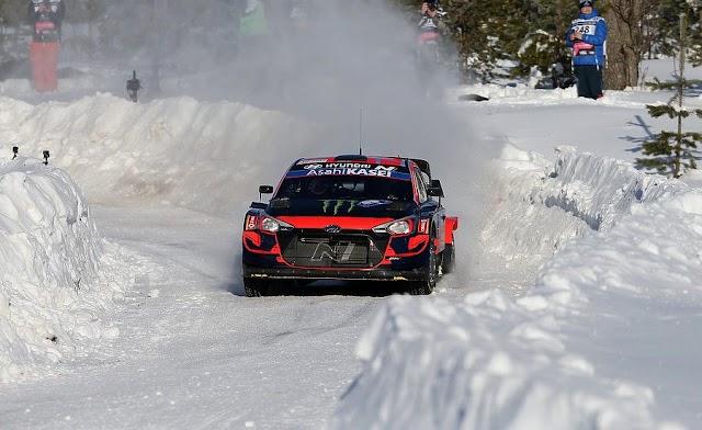 WRC: O Tanak κέρδισε το Αρκτικό Rally