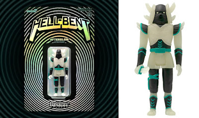 Hell-Bent Afterglow Edition ReAction Figure by HealeyMade x Super7
