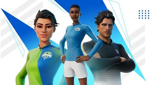 تعلن Fortnite عن حدث كرة قدم وسكنات مجانية قادمة في اللعبة
