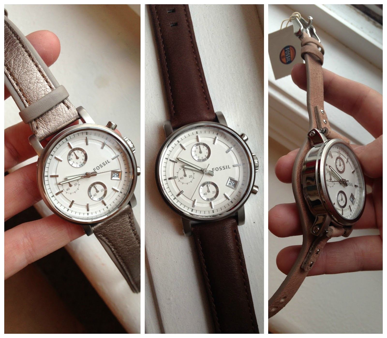 fossil boyfriend watch review change straps