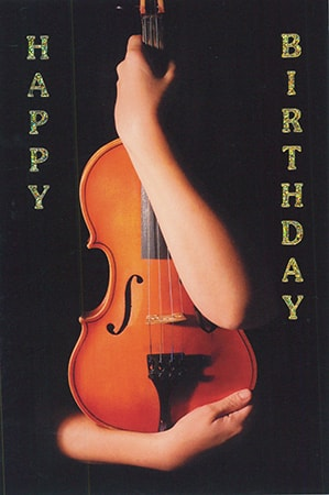 Music happy bday pictures