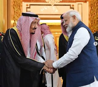 PM Modi's visit to Saudi Arabia