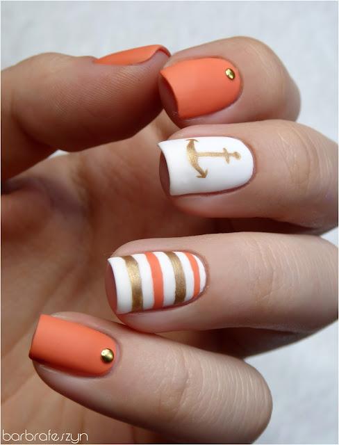 letnie paznokcie