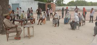 गांव में अगर कोई आता है तो इसकी सूचना थाने पर दें | #NayaSabera