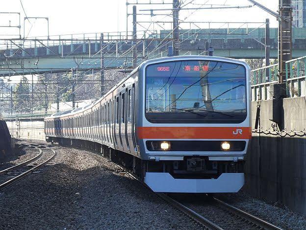武蔵野線 南船橋行き4 E231系