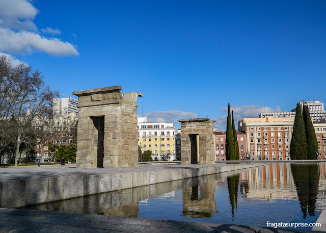 Templo de Debod, Madri