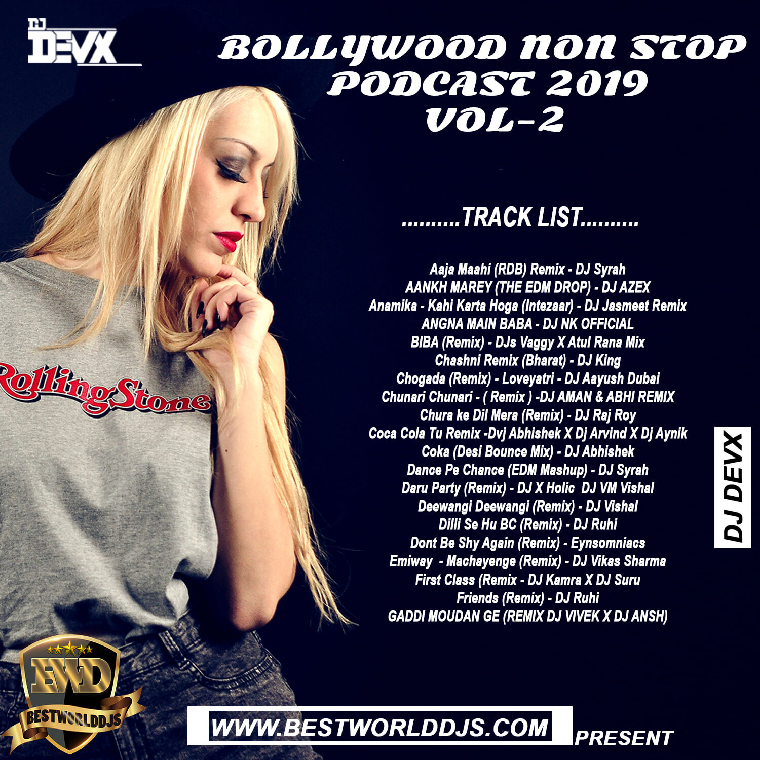 BOLLYWOOD NON STOP PODCAST 2019 VOL 2 DJ DEVX