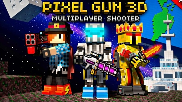 Download Pixel Gun 3D Android APK Mod Game