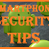 SmartPhone- Security tips for Smartphone android phone