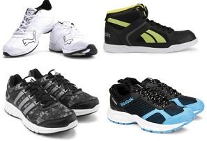 Men's / Women's Sports Shoes & Floaters – Minimum 50% Off @ Flipkart