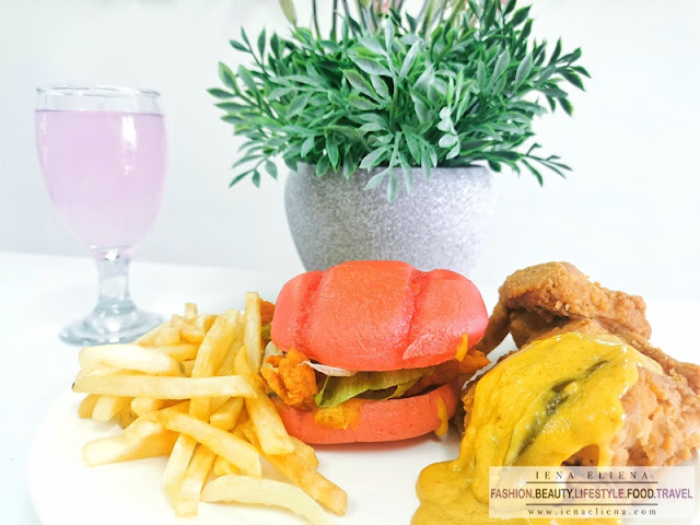 Marrybrown Egg-stra Ong Burger & Chicken Combo : RM24.30